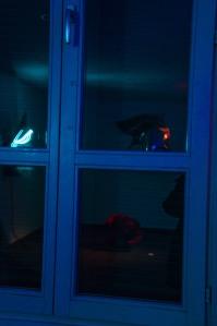 Sculture attraverso la finestra
