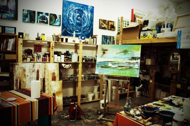 Atelier di pittura di Alex