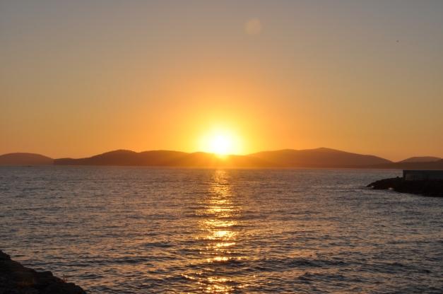 Il sole va a dormire ad Alghero