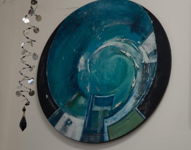 Quadro Nel Blu dipinto di Blu