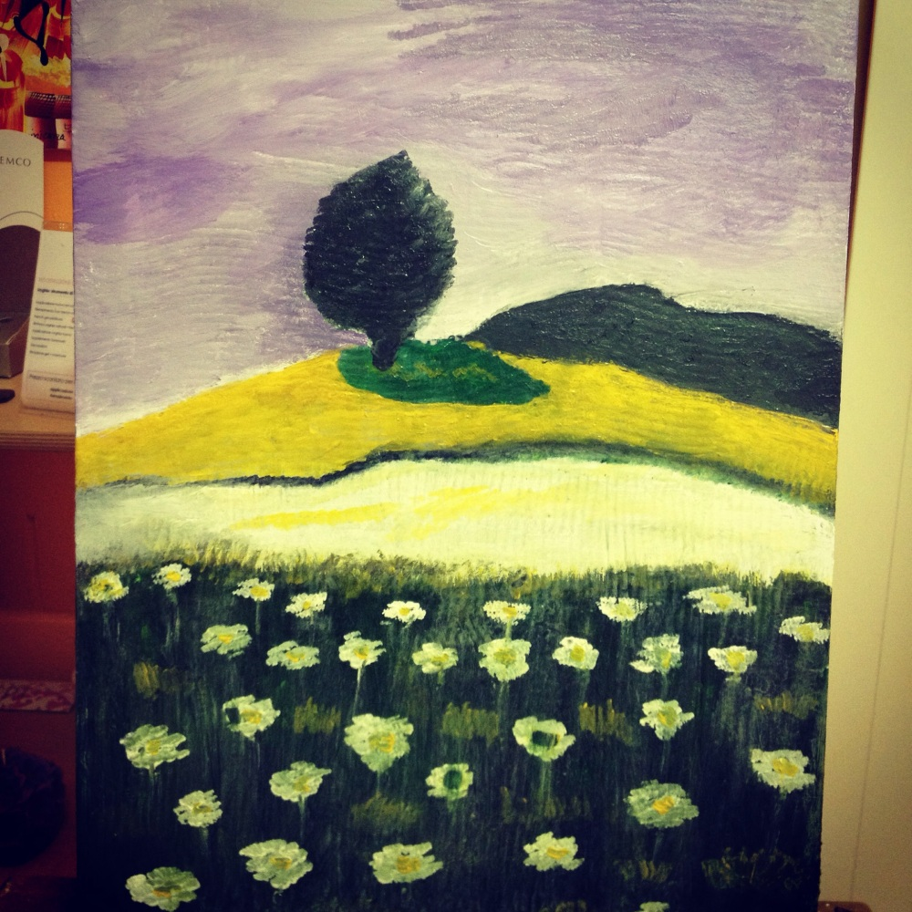 My last opera painting - Provence