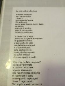 Poesia da un Prigioniero alla madre