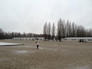 Piazzale del campo di concentramento
