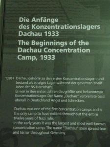 Insegna del campo di Dachau